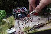 """figure: The miniature """"Streetkings"""" giving a concert"""